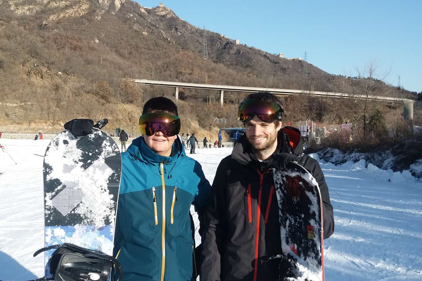 Skiing in China at the Huaibei International Ski Resort